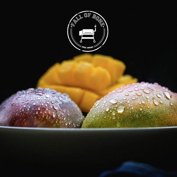 Mango-Schweinsbratwurst